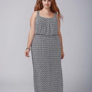 Lane Bryant Blouson Maxi Dress